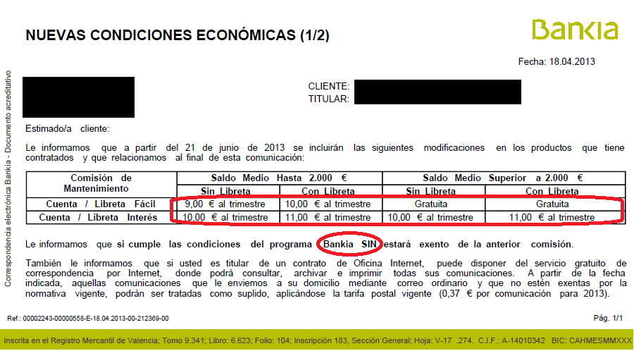 Blog posts sileadmifu for Bankia empresas oficina internet