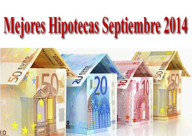Hipotecas m s baratas de septiembre 2014 con el for Diferencial hipoteca