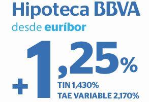 Bbva Baja Su Hipoteca Hasta El Euribor 1 25 Los