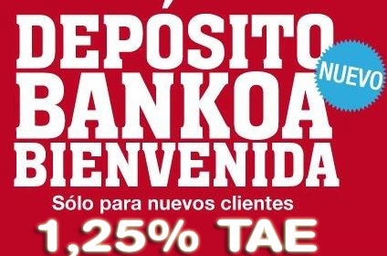 Bankoa ofrece un dep sito al 1 25 tae a nuevos clientes for Oficinas targobank